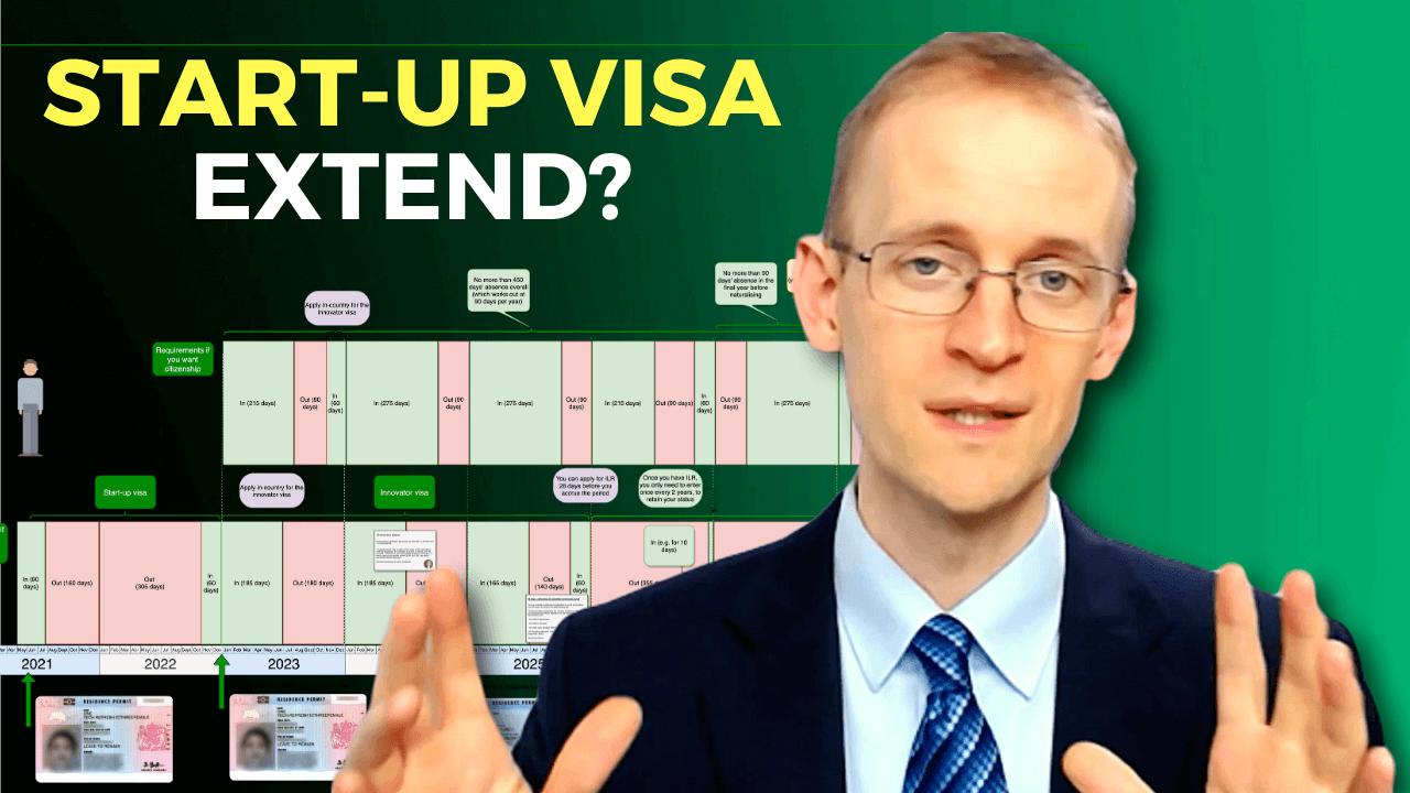 Start-up visa (UK) - extensions